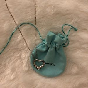 Tiffany & Co. Jewelry - Tiffany & Co Open Heart Necklace (16MM)